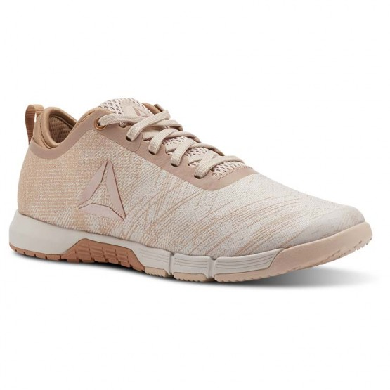 Reebok Speed Training Shoes Womens Face-Bare Beige/Bare Brwn/Moonwht/Pure Copper (471ZQGLI)