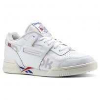 Reebok Workout Plus Shoes Mens Ativ-Wht/Darkroyal/Excellentred/Snowgry/Chalk (477NISWD)