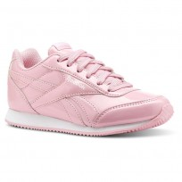 Reebok Royal Classic Jogger Shoes Girls Ptnt-Light Pink/White (478ELUOQ)