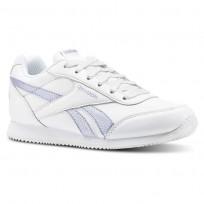 Reebok Royal Classic Jogger Schuhe Mädchen Weiß/Silber (479OFDJL)