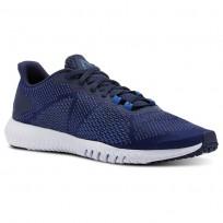 Reebok Flexagon Training Shoes For Men Blue/Blue (491PNGFV)