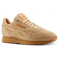 Reebok Classic Leather Schoenen Heren Oranje (494JGSDA)