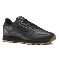 Reebok Classic Leather Shoes For Men Black (505APMDU)