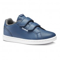Reebok Royal Comp Shoes For Kids Blue/White (517UXHET)