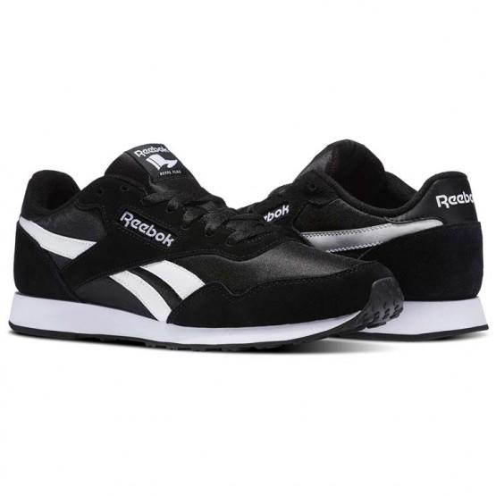 Reebok Royal Ultra Shoes Mens Black/White (525YAQZL)