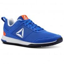 Reebok CXT TR Training Shoes For Men Blue/Red (526JYKIG)