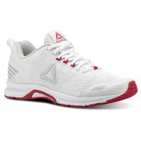 Reebok Ahary Runner Running Shoes Womens White/Skull Grey/Twsited Pink (528CTAQL)