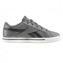 Reebok Royal Comp Shoes For Boys Grey/Black (530NQTUP)
