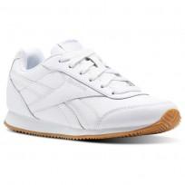Reebok Royal Classic Jogger Shoes For Kids White/Grey (560JERHL)