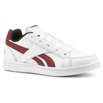 Reebok Royal Prime Shoes Kids White/Triathlon Red/Black (570DANGB)
