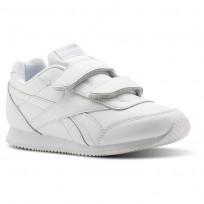 Reebok Royal Classic Jogger Shoes For Kids White (572DOHYV)