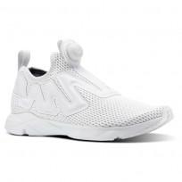 Reebok Pump Supreme Lifestyle Shoes Mens Reveal-Spirit White/Blue Slate (580LKBGP)