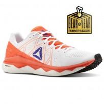 Reebok Floatride Run Running Shoes Mens Atomic Red/White/Blue Move/Black (582RSVUE)