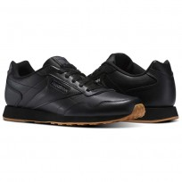 Reebok Royal Shoes Mens Black/Shark/Gum (584LQYGN)