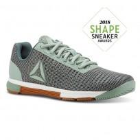 Reebok Speed TR Flexweave™ Training Shoes Womens Chalk Green/Industrial Green/Chalk/Gum (585IECTK)