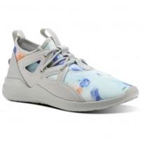 Reebok Cardio Motion Studio Shoes For Women Grey/White/Grey (591PEBIA)
