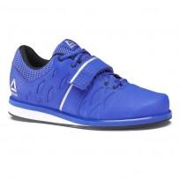 Reebok Lifter PR Shoes Mens Vital Blue/Black/Pure Silver (591PSLVO)
