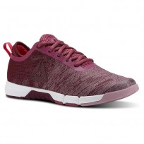 Reebok Speed Training Shoes Womens Twistedberry/Rusticwine/Infused Lilac/Wht/Pnk (596NVGEI)