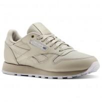 Reebok Classic Leather Shoes Mens Mc-Marble/White (597FSILC)