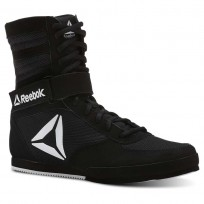 Reebok Boxing Tactical Shoes Womens Black/White (604HQNRI)