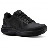 Reebok Walk Walking Shoes For Men Black (607NOFJL)