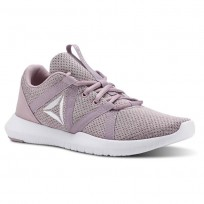 Reebok Reago Training Shoes Womens Infused Lilac/Lavendar Luck/White (615CBPMY)