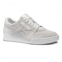 Reebok Phase 1 Pro Shoes Womens Clean-Spirit White/White (624ZHNIR)