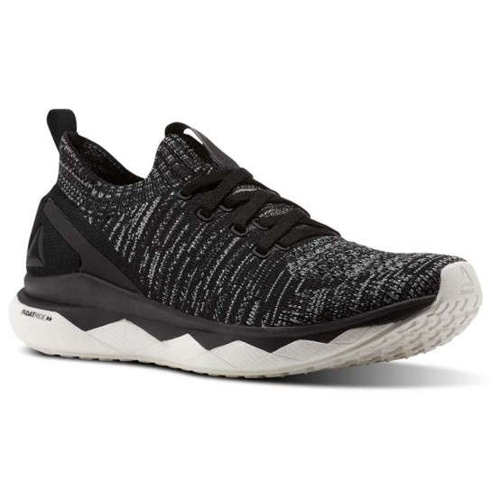 Reebok Floatride RS ULTK Lifestyle Shoes For Women Black/Grey (628DOKSL)