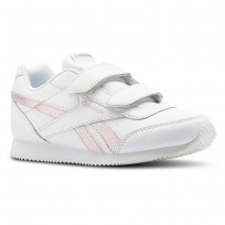 Reebok Royal Classic Jogger Shoes Girls Pastel/White/Practical Pink/Silver (634WTVKN)