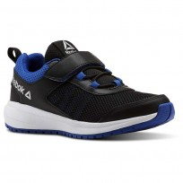Reebok Road Supreme Running Shoes For Boys Black/Blue/White (634ZARTW)