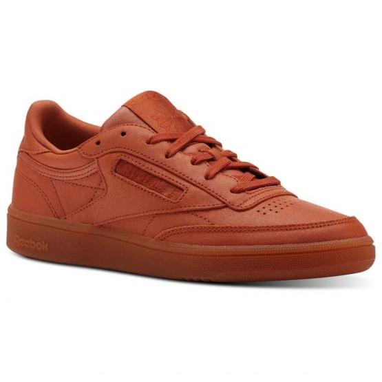 Reebok Club C 85 Shoes Womens Face-Mars Dust/White (636LMYXD)