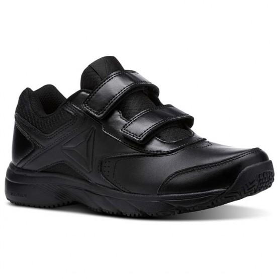 Reebok Walk Walking Shoes Womens Black/Black (645GLTKS)