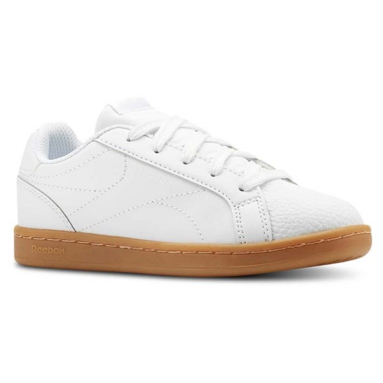 Reebok Royal Complete Shoes Boys Outdoor-White/Dark Gum (649OZAWR)