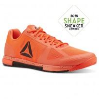 Reebok Speed Training Shoes Mens Atomic Red/Black (664LDFXA)
