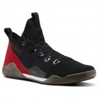 Reebok Combat Noble Tactical Shoes Mens Black/White/Vitamin C (672EXHOC)