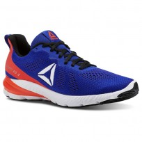 Reebok Sweet Road 2 Running Shoes For Men Blue/Red/Black/White (689DBMPY)