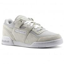 Reebok Workout Shoes Mens Steel/Team Dark Royal/Ex Red/White/Blk/Silver (700SZELO)
