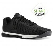 Reebok Speed TR Flexweave™ Training Shoes Womens Shark/Black/Chalk (704RTCIH)