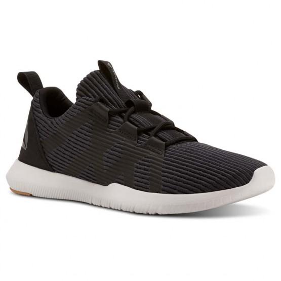 Reebok Reago Training Shoes Mens Coal/Black/Field Tan/Porcelain/Foggy Grey (719UQIAF)
