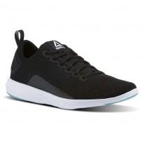 Reebok Astroride Walking Shoes For Women Black/Turquoise/White (721CSDWI)