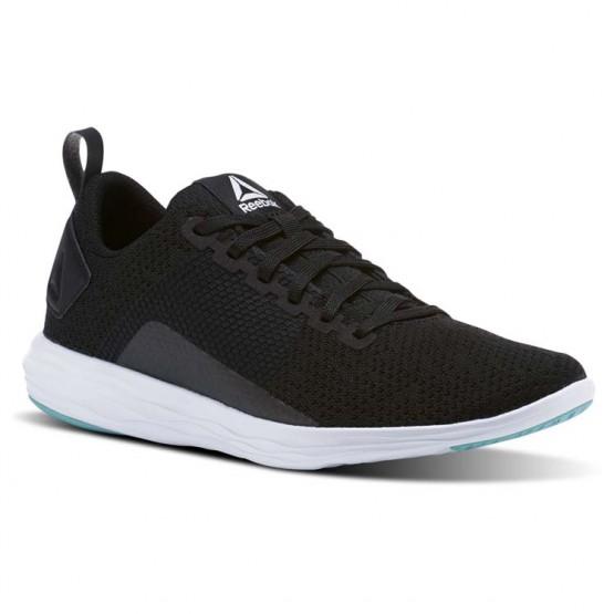 Reebok Astroride Walking Shoes Womens Black/Turquoise/White (721CSDWI)