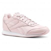 Reebok Royal Classic Jogger Schuhe Mädchen Rosa/Weiß (721XSEGI)