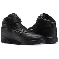 Reebok Ex-O-Fit Shoes Mens Intense Black (732CIZWV)