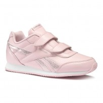 Reebok Royal Classic Jogger Schuhe Mädchen Rosa/Weiß (736CVTYN)