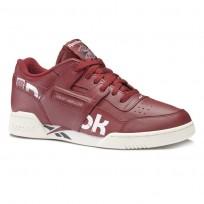 Reebok Workout Plus Schuhe Herren Bordeaux/Weiß/Navy (744MJUSP)