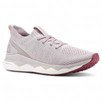 Reebok Floatride RS ULTK Running Shoes Womens Infsd Lilac/Twisted Berry/Spirit Wht/Skl Gry (750BXRMW)