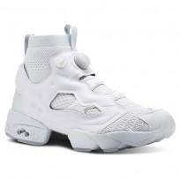 Reebok InstaPump Fury Shoes For Men Grey/Green (750LSRHD)