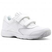 Reebok Walk Walking Shoes For Men White/Grey (752ICXEZ)
