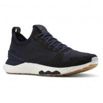 Reebok Floatride 6000 Lifestyle Shoes Mens Collegiate Navy/Black/White/Gum (755ZAXJW)