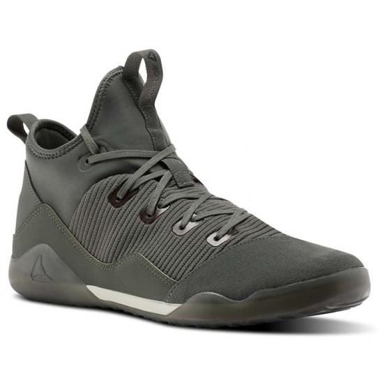 Reebok Combat Noble Tactical Shoes Mens Green/Iron Stone/Chalk/Coal (761IMFCT)